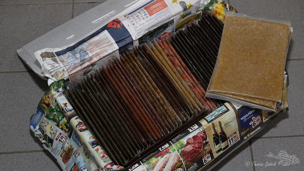 56 Tafeln beste Ware Frostfutter